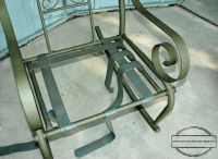 How to repair vinyl strap patio chairs | Let's Get Crafty ...