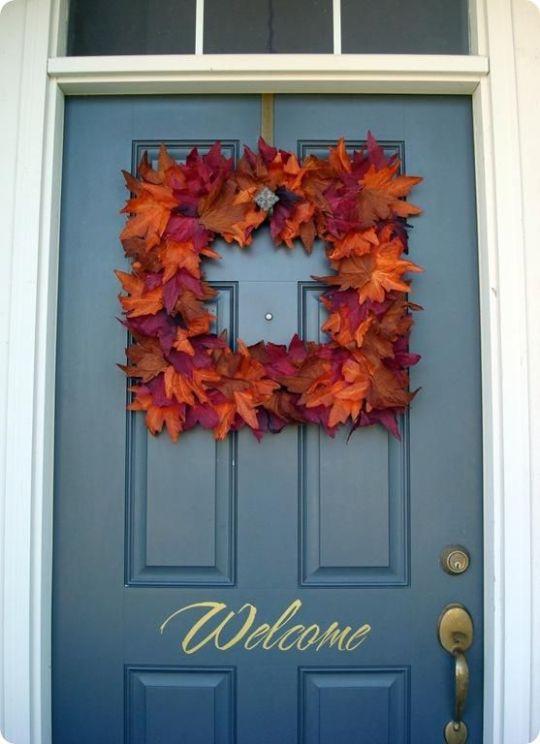 Diy A Dollar Store Fall Wreath Diy Fall Decor Diy Home