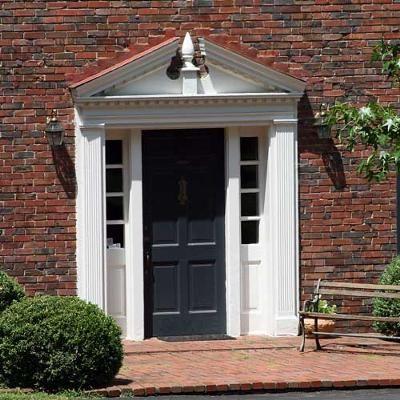 Front Door Pediment