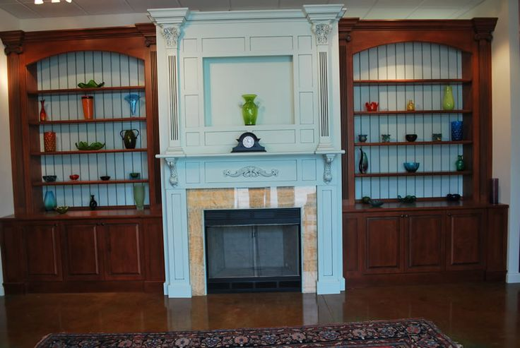 27 Fantastic Built In Bookcases Around Fireplace Yvotubecom