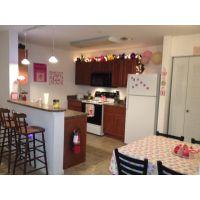 Girly kitchen! | College Daze | Pinterest