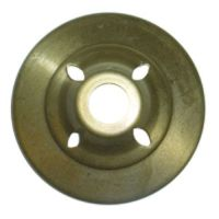 """3 1/2"""" Brass Vented Vase Cap for Stained Glass Lamp Shades ..."""