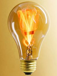 """""""Balafire Flicker"""" Carbon Fillament Light Bulb - 15 Watt"""