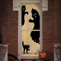 Halloween Ghost Window Panel Decoration | Halloween 365 24 ...