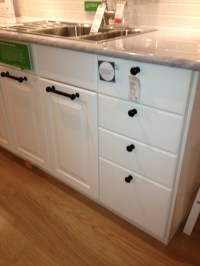 Black cabinet pulls @ Ikea | Home Ideas | Pinterest