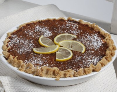 Buttermilk-Lemon Chess Pie Recipe — Dishmaps