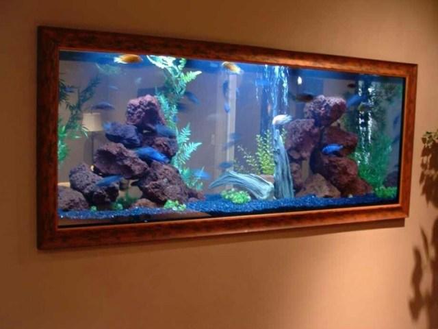 Wall painting . nope fish tank! | FISH TANKS | Pinterest