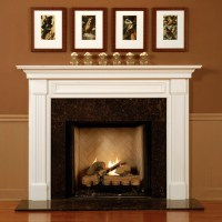 Lewisburg Wood Fireplace Mantel Custom