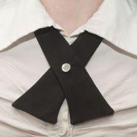 Womens Neck Tie - Black