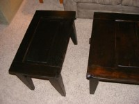 Table made out of old panel door | Re-purpose Old Doors ...
