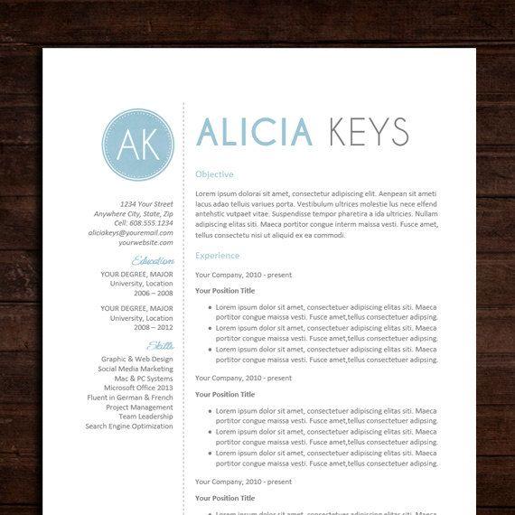 Free Microsoft Word Doc Professional Job Resume And Cv Templates - free creative resume templates word