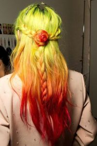 Crazy colored hair  | Beautiful Hair Wig | Pinterest