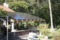 solar pergola - Google Search | Shade structures | Pinterest