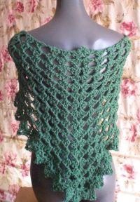 Quick Easy Crochet Shawl Pattern ~ Dancox for