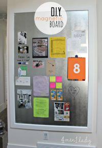 Magnetic board diy | DIY & Crafts | Pinterest