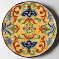 Talavera Dinner Plates. Q Squared Talavera in Azul BPA ...