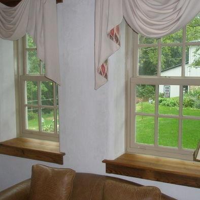 Living Room Deep Window Sill