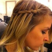 thin hair braids thin hair waterfall braid hair obsessed ...