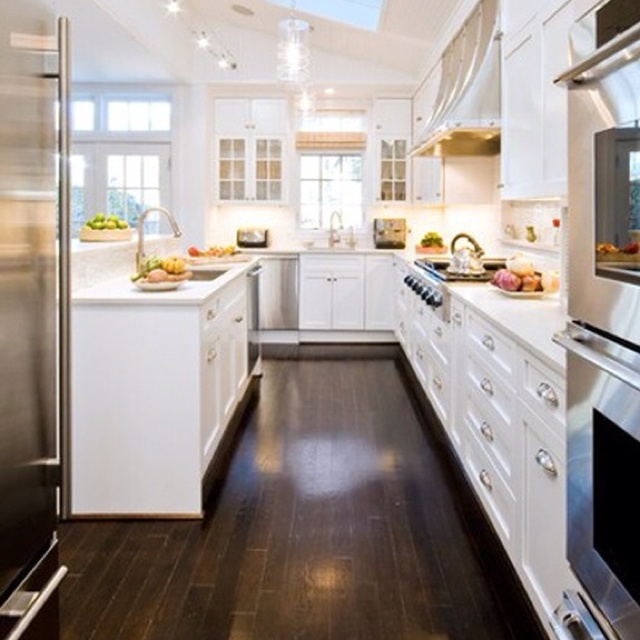 Dark Floors White Cabinets Dark Wood Floors With White Cabinets | Master Bedroom