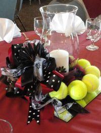 Cheerleading Banquet Table Decorations Photograph   Tennis c