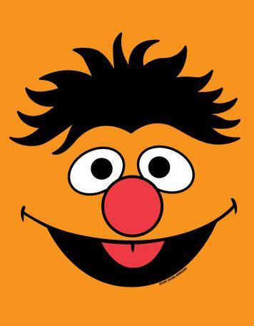 Bert Wallpaper Iphone X Ernie Face Template Levi S 1 Birthday Pinterest