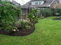 New landscaping along side fence | My Backyard | Pinterest