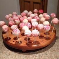 Homemade cake pop holder!   Fun Things to Make   Pinterest