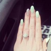 Oval nails | My Style | Pinterest