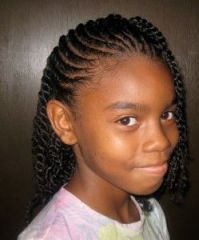 Braided Mohawks for Girls | how to braid with weave ...