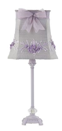 Floral Bouquet Medium Lamp Shade - Lavender