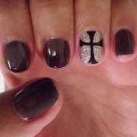 Nail Art Design Of Cross | Joy Studio Design Gallery ...