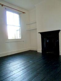 #black   wooden floors dilemma... dark brown, white or ...