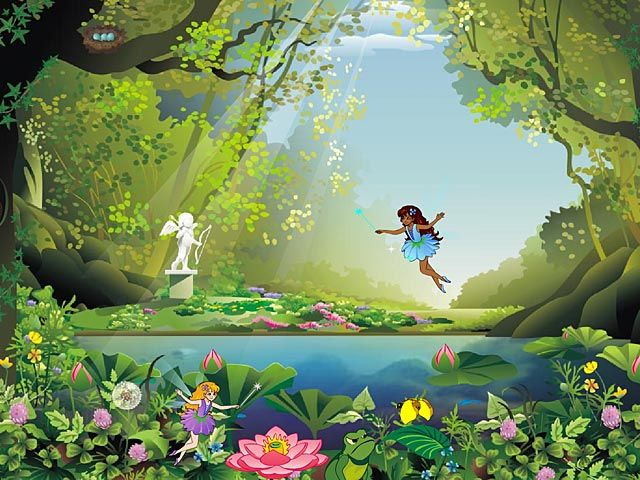 Firefly Fly 3d Live Wallpaper Free Animated Wallpaper Windows 8 Fairy Forest Animated