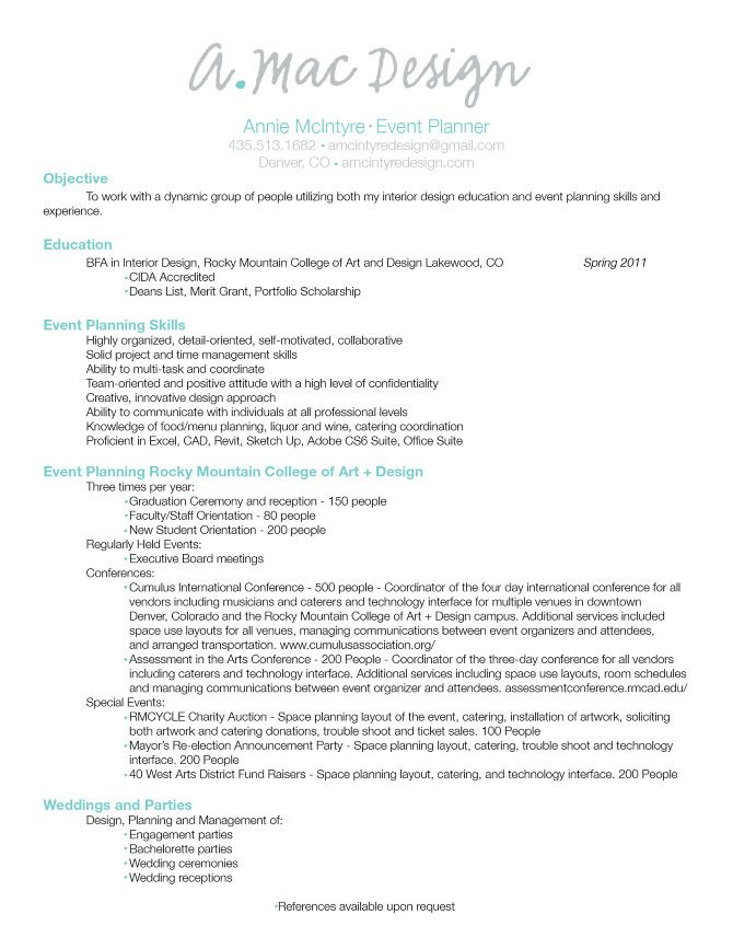 city planner resume examples