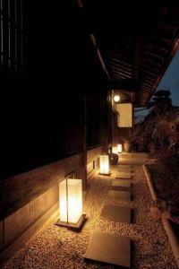 Japanese garden lighting | Garden Garden | Pinterest