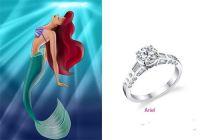 Little mermaid engagement ring! | tmb | Pinterest