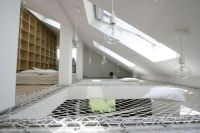 A bookcase and a ceiling hammock... hmm. | Something Not ...