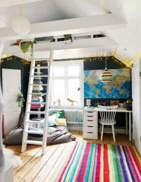 loft bed. Low ceiling   Home Decor that I love   Pinterest