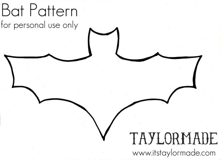 bat template - 52 images - bats template, bat template bats and - bat template