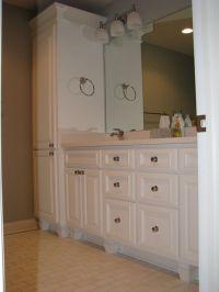 30 Beautiful Bathroom Vanities And Linen Cabinet Sets ...