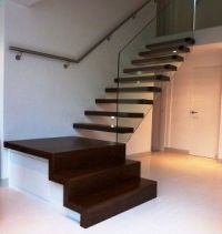 quarter landing stairs | STAIRS WITH FLAIR | Pinterest