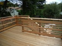 Deck Designs: Deck Railing Horizontal Designs