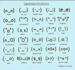 Japanese Emoji Faces