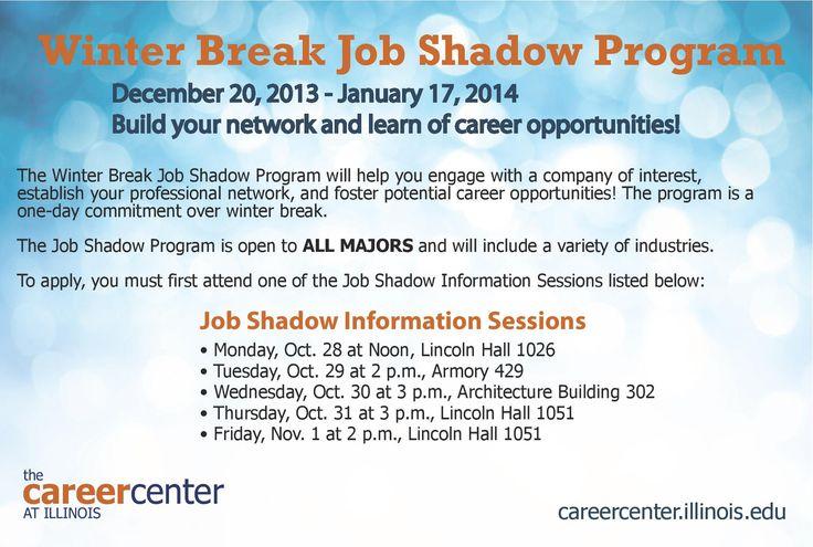 Job Shadowing Programs - livmoore.tk