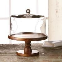 Cake Plate Dome. Anchor Hocking Aubriana Cake Dome, 11 Inches.