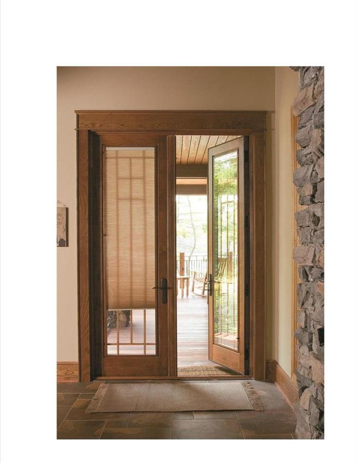 Pella Designer Series Hinged Patio Door
