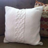 Cable Knit Pillow | Coixins | Pinterest