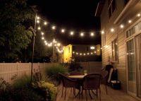 String Lighting Idea For Outdoor Deck   Outdoors   Pinterest