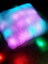Light up blanket/pillow | Brents cool | Pinterest