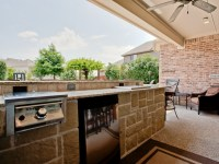 Covered Outdoor kitchen | Outdoor living | Pinterest